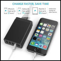 Best 5 Port USB Charger 5V 8A 40W High Quality
