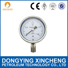 China supplier pressure gage for mud pump