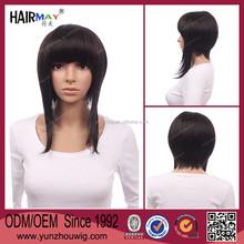 Wholesale unique wig with black color