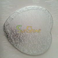 White /gold /silver Cake tray & paper boards,Covered With Foil