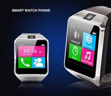 2015 fashion touch screen gsm smart phone watch pedometer health watch phone three ways answer calls