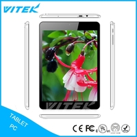 Most Popular Products Dual core 8312 mtk 3g pc tablet inch 7.85