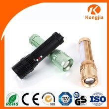 Rechargeable Torch Most Powerful Light Camping Flashlight Aluminum Alloy Led Star Curtain