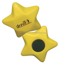 Wholesale custom novelty Star Magnet Stress Ball
