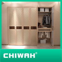 2014 Hot sale modern mdf & plywood stand-up wardrobe & clothes closet for wholesale made in China
