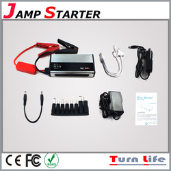 Tiny portable power source battery 12v car booster portable jumping jack