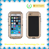 2015 big promotional gorrila glass aluminum metal waterproof case for iPhone 5s