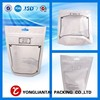 heat seal plastic waterproof package bag materials with clear window