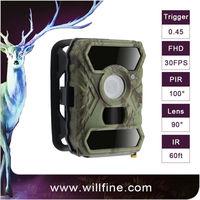 12MP 1080P PIR motion detection optional 940nm 850nm black camo scout guard gsm mms hunting trail hidden gsm camera