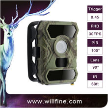 12MP 1080P PIR motion detection optional 940nm 850nm black camo scout guard gsm mms hunting trail hidden gsm camera