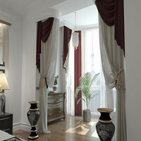 2015 new design window curtain models