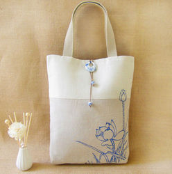 Non Woven Foldable Shopping Bags Campus Popular Tote Bag