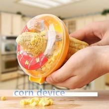 C34 fashion design kitchen helper hand stripping corn device