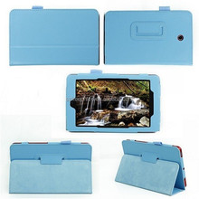 2015 hot tablet pc leather smart cover case for Dell venue 7 inch