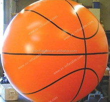Custom cheap inflatable helium basketball,inflatable advertising balloon