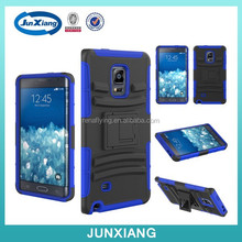 Hard Hybrid Case Cover Military Stand Holster Locking Belt Clip Combo Case for samsung galaxy note edge