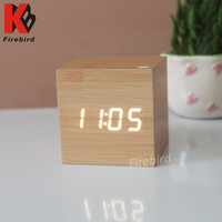 Hot sale double power supply led digital mini clock timer