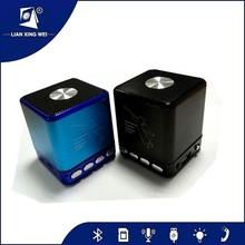 Portable Shockproof Bluetooth Stereo Speaker For Smart Phone Laptop with Zinc alloy case