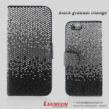 Luxury Diamond Leather Case for Iphone 4 Iphone 5 Iphone 6