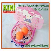 4Pcs Soprt Toy Plastic Cartoon Mini Kids Basketball Backboard