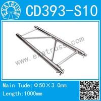 CD393-S(390*50) aluminum flat truss , girder truss, roof tent truss