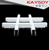 High Strengh Metal Aluminum Lattice Panels Ceiling For Office