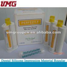 Impresión de material Regular Material de sal caliente Dental de Silicona, dental