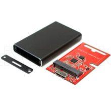Aluminum material Micro B TO SATA SSD Enclosure