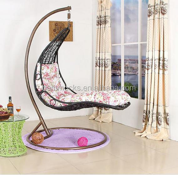 Rattan Hanging Chair Garden Swing Chairs Indoor Swing Chair With Stand Buy