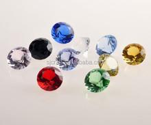 High quality wedding souvenirs crystal diamond cut glass gems SJ-ZS231