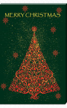 New product Christmas tree green LED canvas fine art , lighted artwork printing wall art