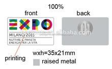 2015 Milano EXPO offset printing souvenir lapel pins