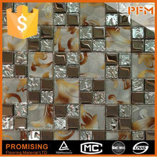 polished surface flooring swimming pool mosaic mirror glass wall art