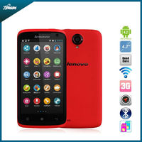 "original lenovo s820 4.7"" IPS mobile phone MTK6589 quad core 1GB RAM 4GB ROM dual SIM Bluetooth GPS android phones"