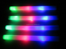 foam stick led light up RGB change Whole sell 2015 for party/concerts