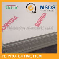 New style most popular pe protective plastic film for car