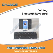 Aluminum alloy tri-fold wireless bluetooth keyboard with multi function case