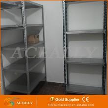 DIY layers sheet metal storage rack, slotted angle iron rack