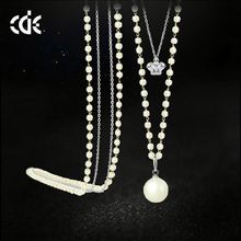 Beautiful Girl Fashion New Design Pearl Kids Necklace