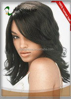 14 inch fashion body wave 100% Brazilian human without synthetic and animal hair