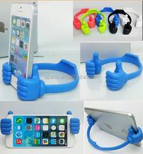 Thumb Design Mini Ok Universal Portable Stand Holder smart cell phone Mount For Mobile phone
