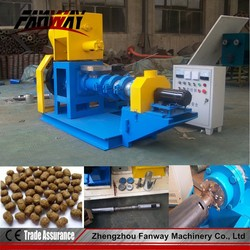 high output 2t/h floating fish food pellet making machine/pet fish food maker machine