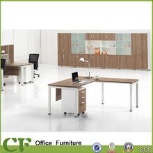 metal legs freedom office executive desk for staffs (LQ-CD0118)