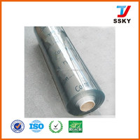 Super/normal clear flexible PVC roll soft PVC sheet