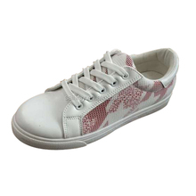Wholesale china Ladie PU Star Mesh Fashion sneaker