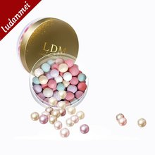 6 Colors Mixed Mineral Shimmer Ball Powder