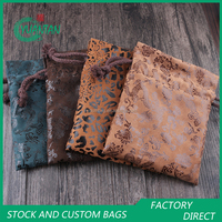 15*20cm Jewelry Diamonds Packing Bags Hot Stamping Pouches
