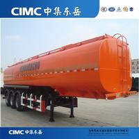 CIMC Fuel Tank Semi-Trailer Dimensions