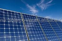 CE TUV CSA ISO Commercial Application monocrystalline solar panel and power plant