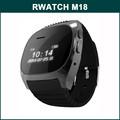 """rwatch m18 0.96"""" شاشة أحدث بلوتوث مشاهدة الهاتف sms دعم/ مزامنة الوقت/ المضادة-- خسر/ ساعة توقيت"""
